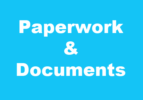Can't find important documents?